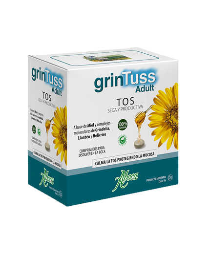 ABOCA GRINTUSS ADULT 20 COMPRIMIDOS