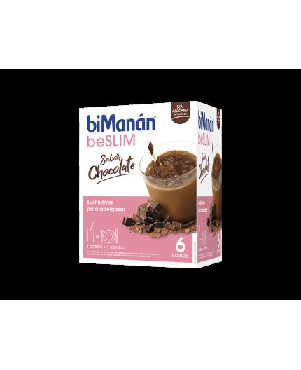 BIMANAN BESLIM BATIDO DE CHOCOLATE 6 SOBRES