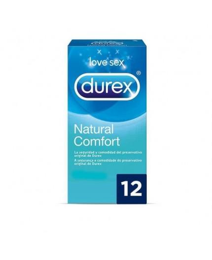 DUREX PRESERVATIVO NATURAL COMFORT 6 UDS