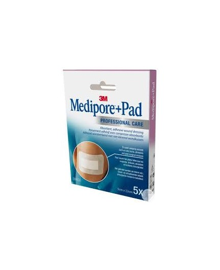 NEXCARE APOSITOS MEDIPORE+PAD 10 UDS (5X7.2MM)