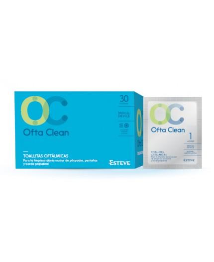 OFTA CLEAN TOALLITAS OCULARES 30 UDS
