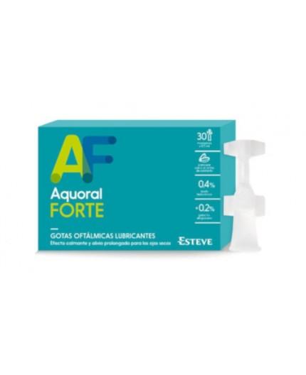 AQUORAL FORTE LAGRIMA ARTIFICIAL LUBRICANTE 30 MONODOSIS