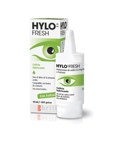 HYLO-FRESH LAGRIMA ARTIFICIAL LUBRICANTE FRASCO 10 ML