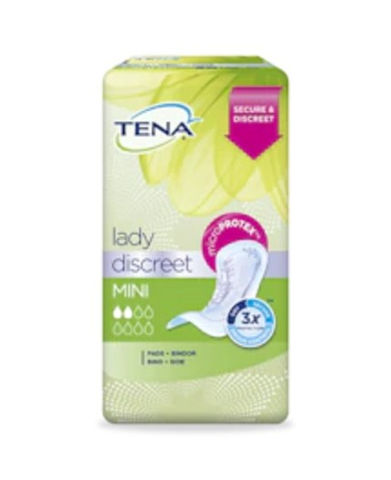 TENA LADY DISCREET MINI 20 UDS
