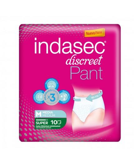 INDASEC DISCREET PANT SUPER 10 UDS
