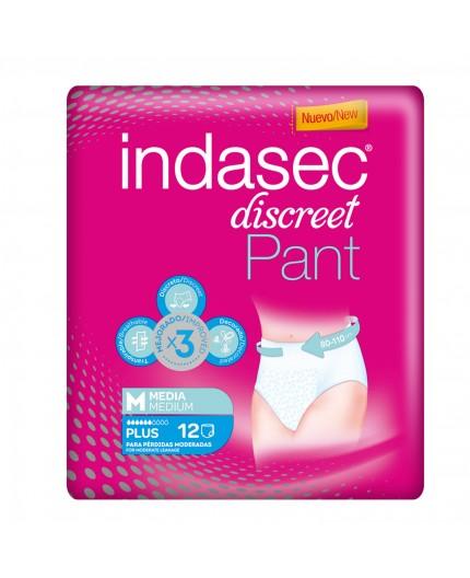 INDASEC DISCREET PANT PLUS 10 UDS