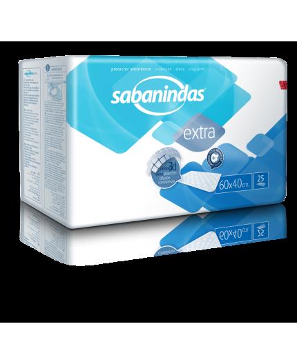 SABANINDAS EXTRA 60X40 25 UDS