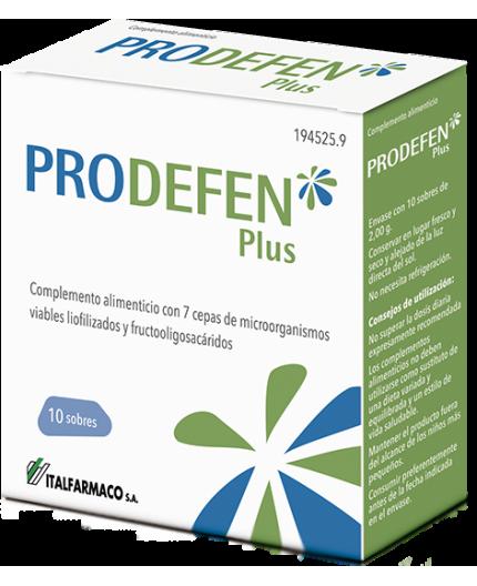 PRODEFEN PROBIOTICO + PREBIOTICO 10 SOBRES