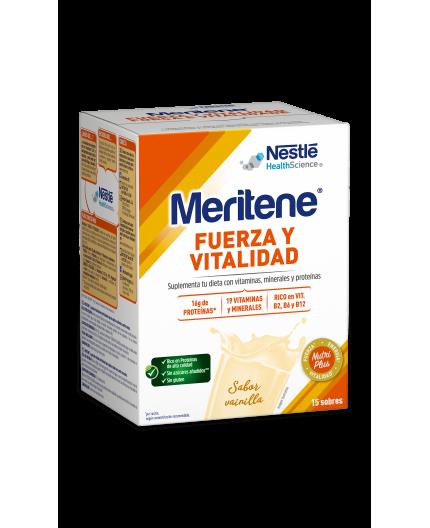MERITENE BATIDO DE VAINILLA EN POLVO 15 SOBRES