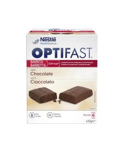 OPTIFAST BARRITAS CHOCOLATE 6 UDS