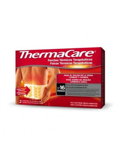 THERMACARE PARCHES TÉRMICOS CADERA Y LUMBAR 2 UDS.