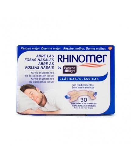 RHINOMER BREATHE RIGHT TIRAS NASALES 30 UDS