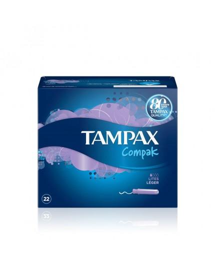 TAMPAX COMPAK LITES 22 UDS