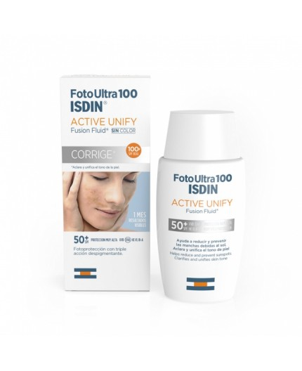 ISDIN FOTO ULTRA 100 ACTIVE UNIFY FUSION FLUID SPF 50+
