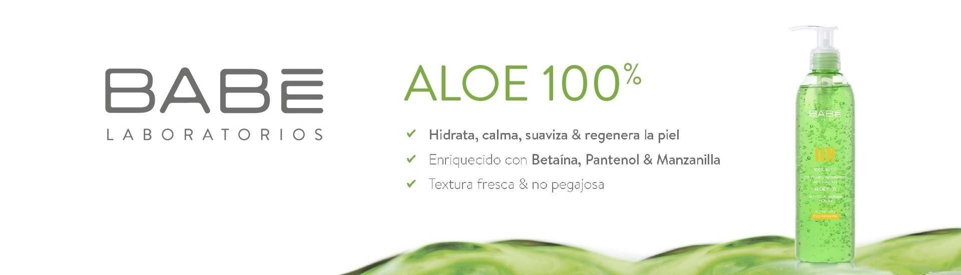 Crema hidratante y anti envejecimiento de Aloe Vera